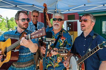 Blackstone Valley Bluegrass Band will kick off the 2021 ValleyCAST Free Summer Concert Series July 1.
