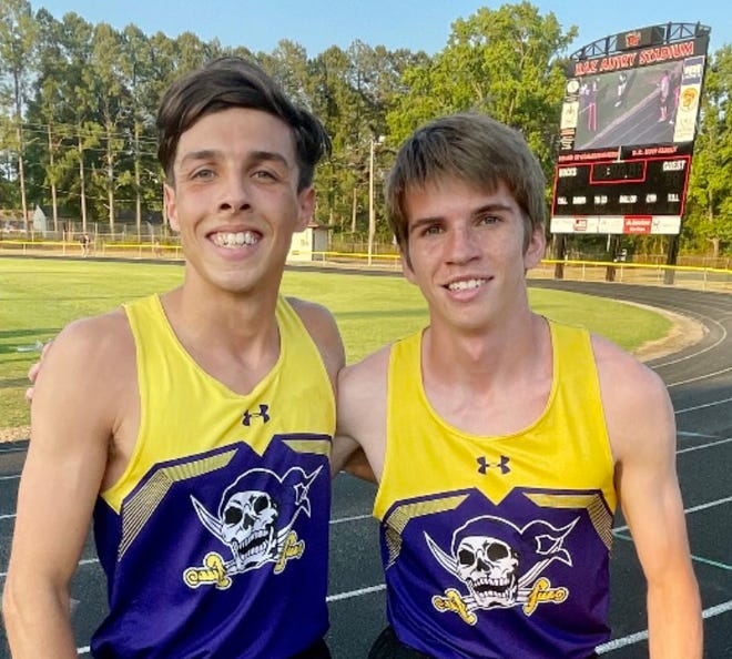 Brian Marquis Jr. and James Stover are among the Jack Britt track and field athletes set to participate in the NCHSAA 4-A state championship meet.