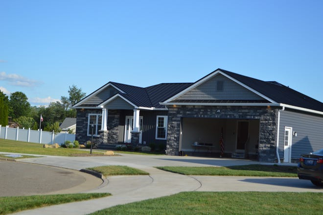 The most recent Buckeye Career Center student-built Buckeye House sold at public auction June 15.