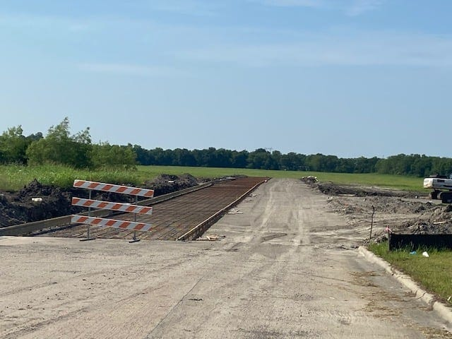 Work on the Phase II of the Cold Spring Industrial Park should be completed before summer's end.