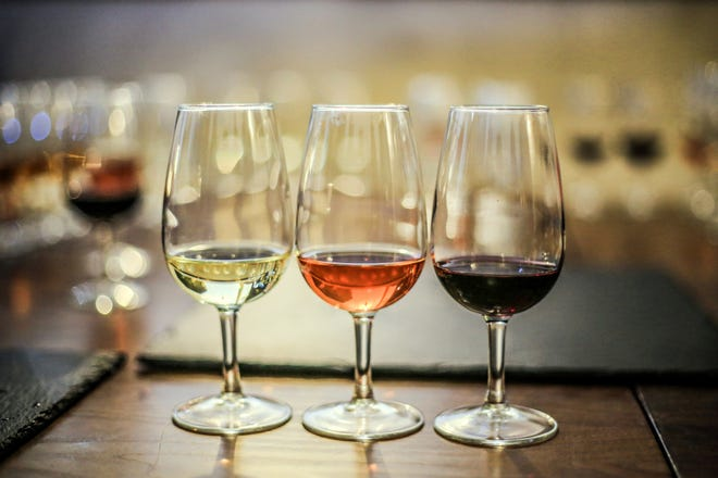 White and rosé wines can be more preferable in hot conditions.