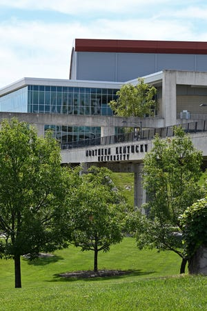 The campus of Northern Kentucky University photographed on Wednesday, June 23, 2021.