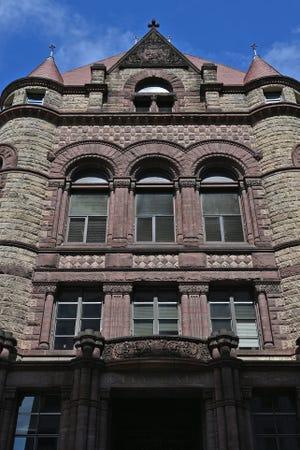 Cincinnati City Hall photographed on Wednesday, June 23, 2021.