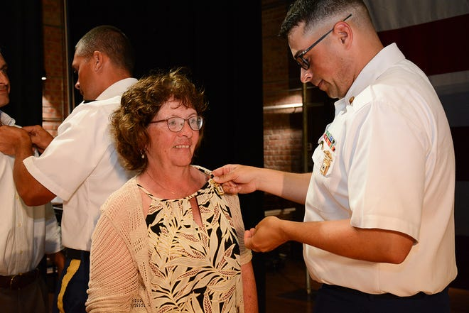 Distinguished Badge winners will be recognized, but not pinned in 2021.