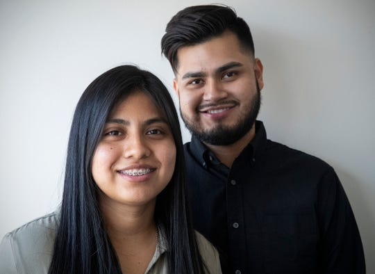 Siblings Adriana and Luis Perez Mayo and their employment company, Mayo Services.