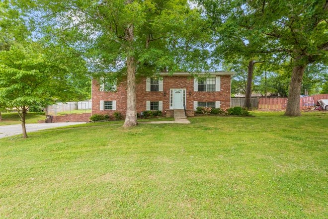 The home at 10009 Hempshire Drive is listed for $262,000, slightly less than the Knoxville Area Association of Realtors's estimated median home price in May 2021.