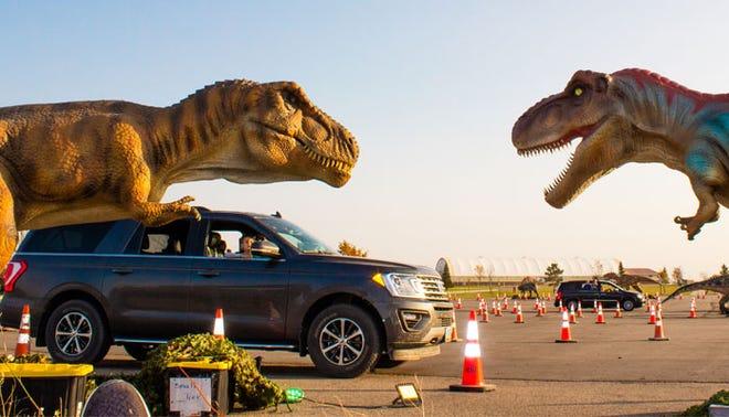 Jurassic Empire, una exhibición de 70 modelos de dinosaurios, visitará Las Cruces el 25, 26 y 27 de junio de 2021 en el recinto ferial del sur de Nuevo México.