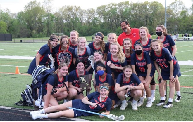 The Livonia United girls lacrosse team finished the 2021 season with 14 wins, recording its second-straight KLAA East title.
