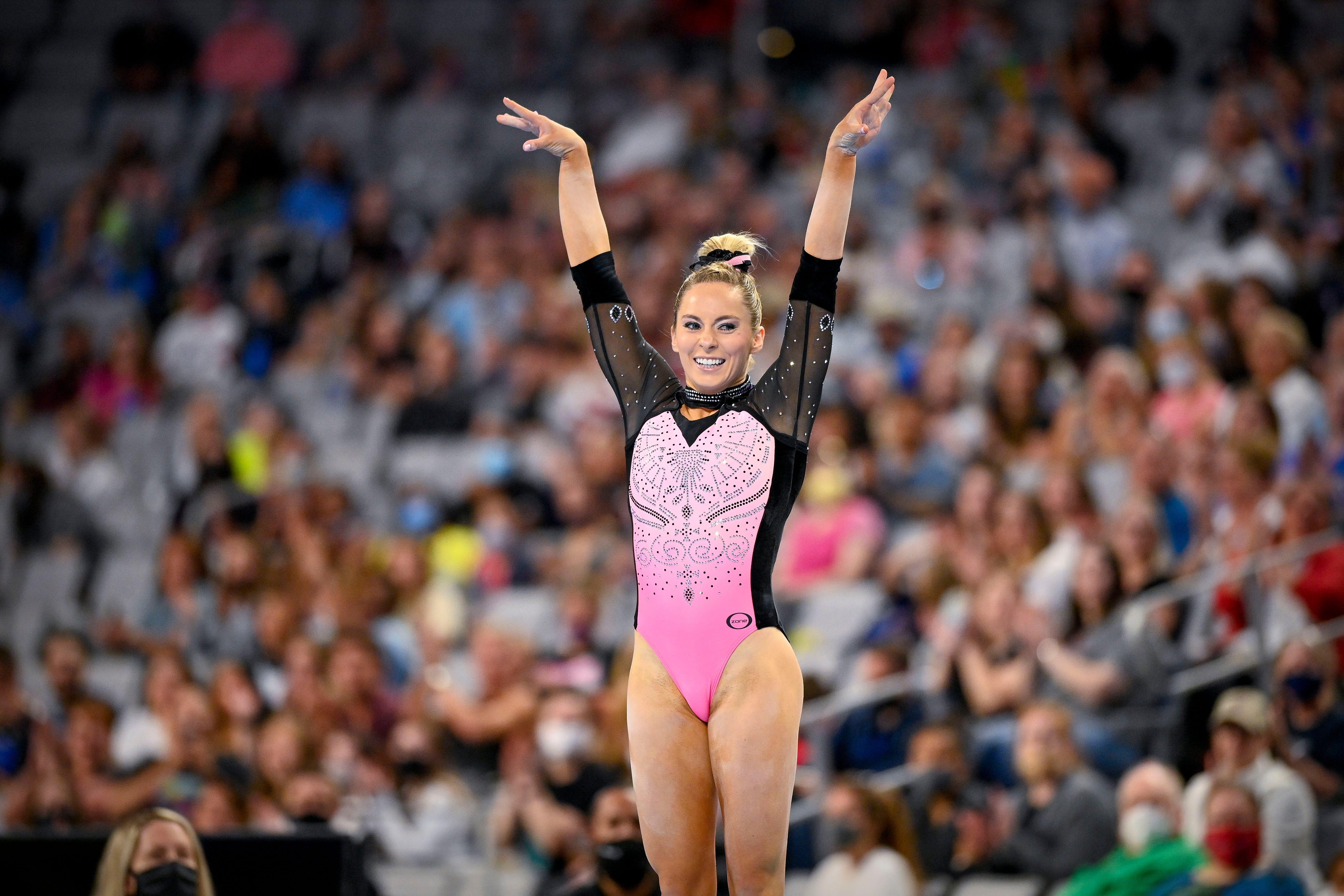 Gymnast MyKayla Skinner of Desert Lights