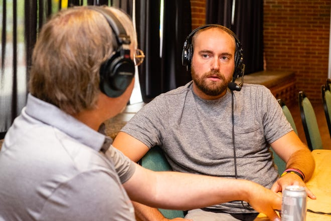 Times Herald sports reporter Brandon Folsom appeared on the Get Stuck on Sports podcast on Wednesday, June 23, 2021, at McMorran Place.