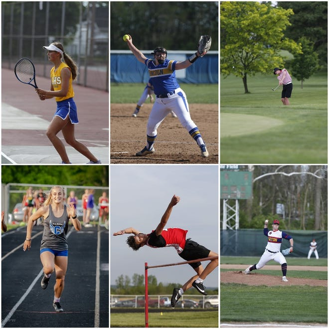 The Palladium-Item selected the top athletes in Wayne County from the spring 2021 season, with six total picks from baseball, softball, boys and girls track and field, boys golf and girls tennis.