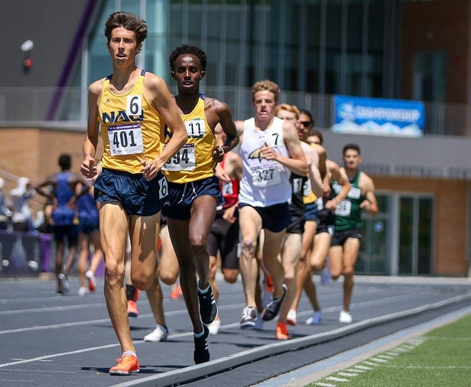 Newbury Park High graduate Nico Young, who had a breakout freshman year at Northern Arizona, will compete in the 5,000 meters at the U.S. Track and Field Olympic Trials on Thursday.