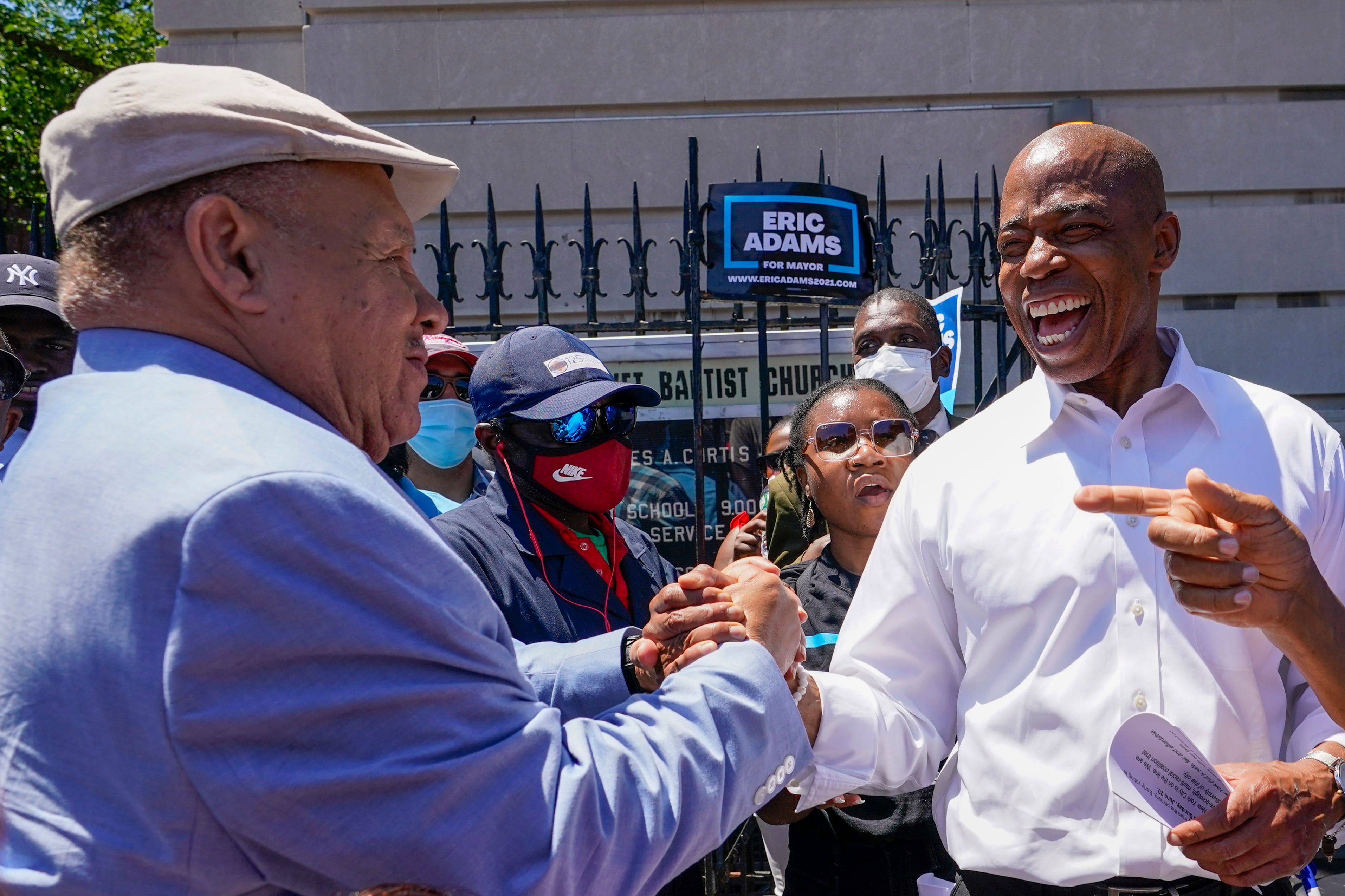 New York City's mayor race: Eric Adams has initial lead but final results may have to wait until July; Andrew Yang concedes