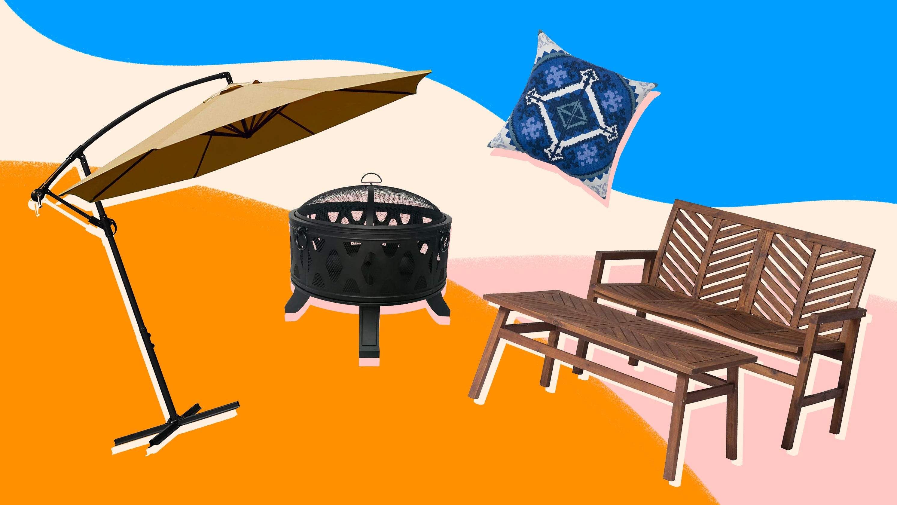 You can shop tons of discounted patio furniture during Amazon's huge Prime Day 2021 event