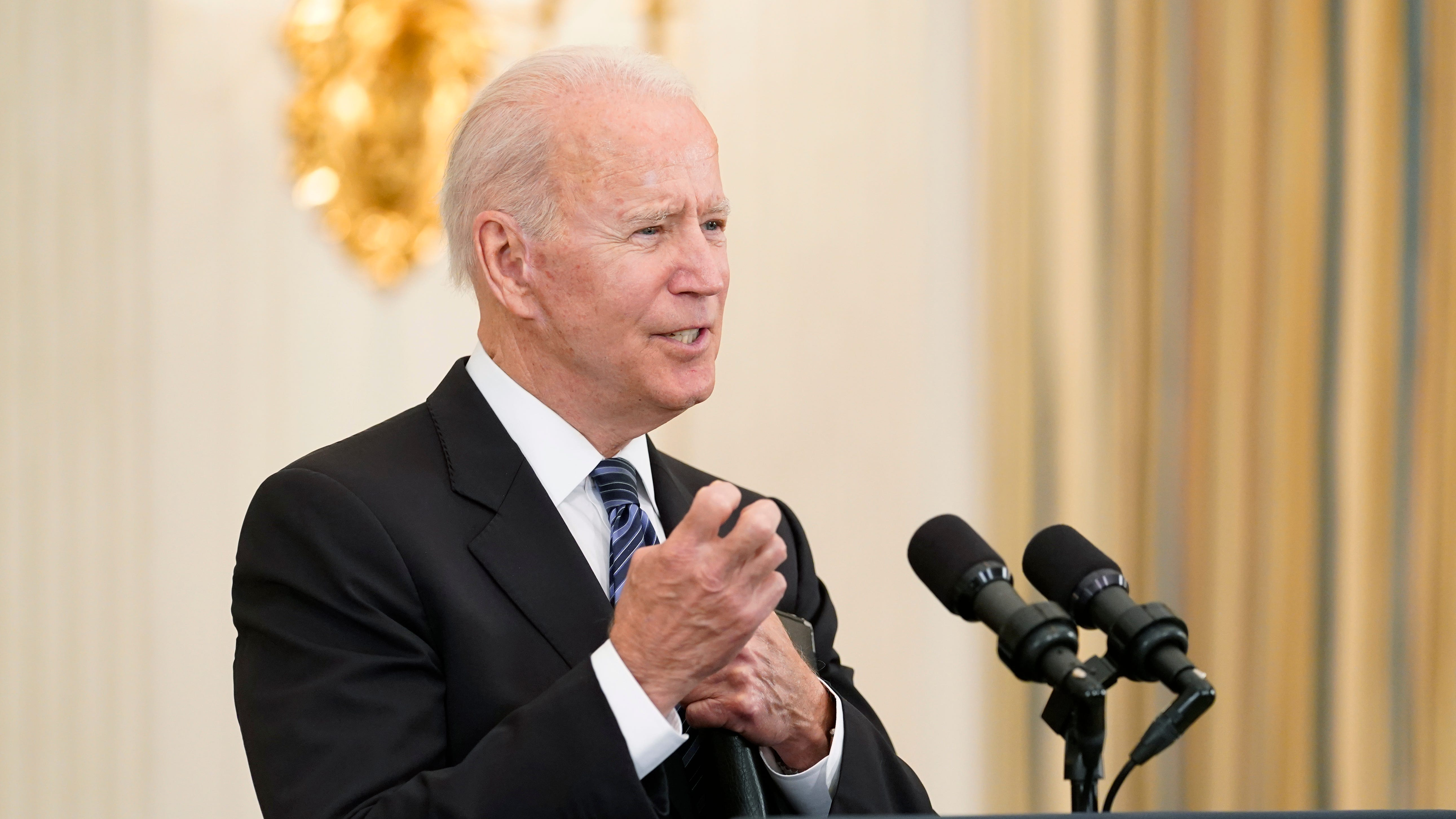 Bipartisan group of 21 senators reached infrastructure deal with Biden