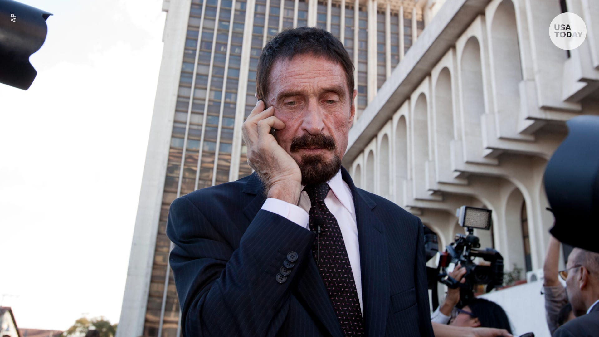 McAfee founder found dead in prison after Spanish court approves extradition to US