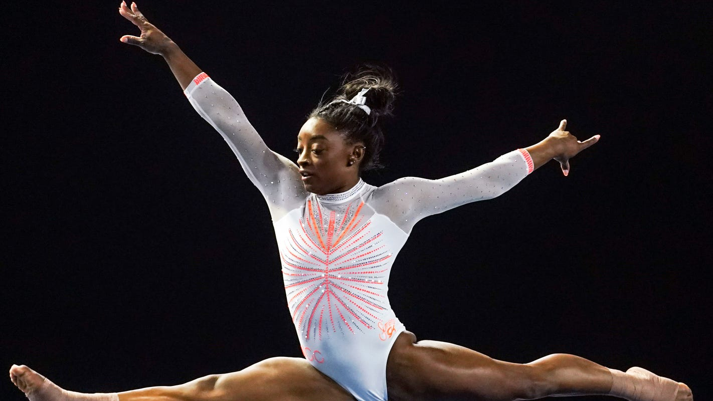 How to watch Simone Biles at the US gymnastics Olympic trials and more about Team USA star
