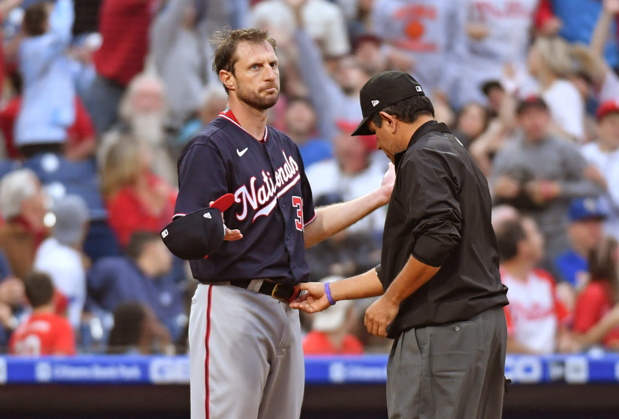Opinion: MLB s well-intended pitcher crackdown is instead creating a public spectacle