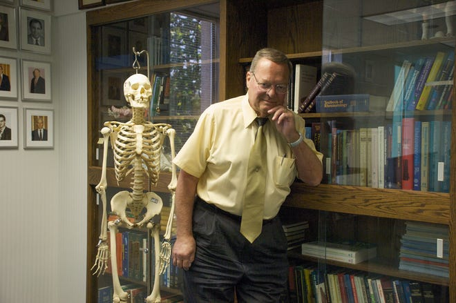 Dr. Dennis Weiner, shown in a photo from 2009, founded and ran the Regional Skeletal Dysplasia Center at Akron Children's Hospital, which works with disorders that impact the growth and development of bone. One of the most common health-related issues is dwarfism. Dr. Weiner died June 19.