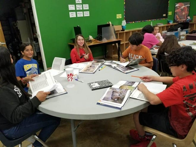 BGCA kids take first Kritters for Kids class.