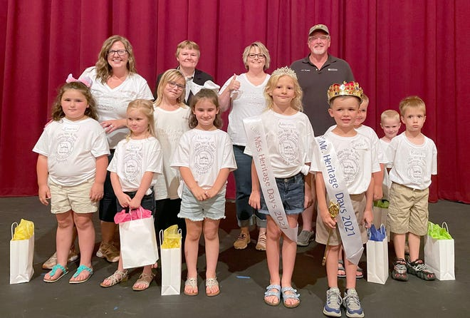 """Cooper Reimund and Adalynn Edmonds were crowned king and queen of the Little Misterand MissPageant Wednesday night at Thespian Hall in Boonville. Mary Hummel, of the Boonville Chamber of Commerce, said four boys and four girls participated in the pageant. """"The whole pageant went very nicely,"""" Hummel said. """"It was cute."""" Renee Morrill was the committee chair for the pageant, while Jayna Freidrich, RN University of Missouri Hospital, was the emcee. Judges for the pageant wereJohn Worden,Director at the Law Enforcement Training Institute-University of Missouri Extension, and Rita Gulstad, Provost at Central Methodist University."""