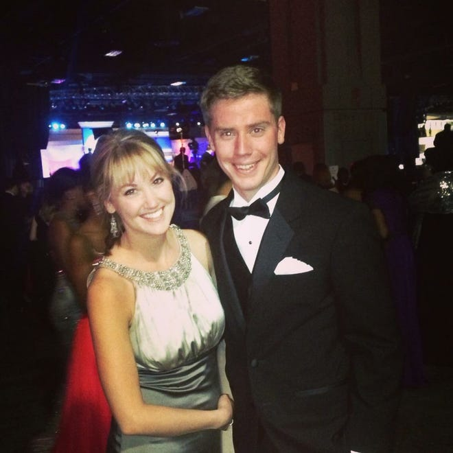 Pictured are the siblings attending President Obama's Inaugural Ball in Jan., 2013.
