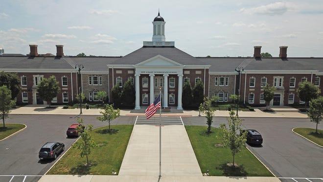 The New Albany Intermediate School, 177 N. High St. in New Albany, Ohio.