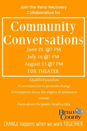 A Community Conversation on drug misuse and a community response is set for Friday night in Hutchinson.