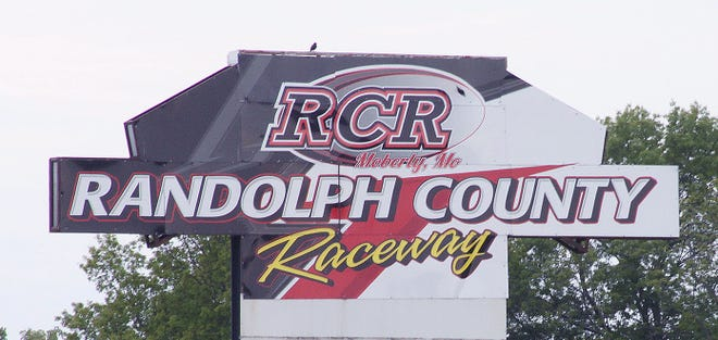 Randolph County Raceway of Moberly sign