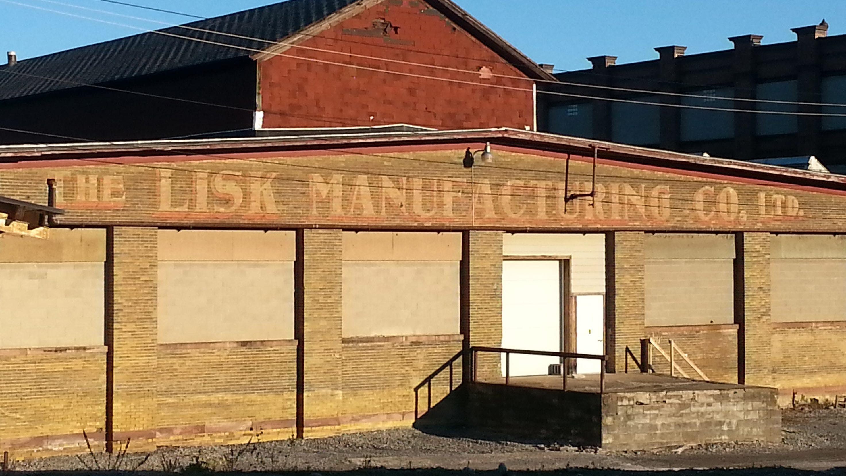 Here is how the soon-to-open Working Class Coffee in Canandaigua used to look, before work to redevelop the Lisk manufacturing site began.