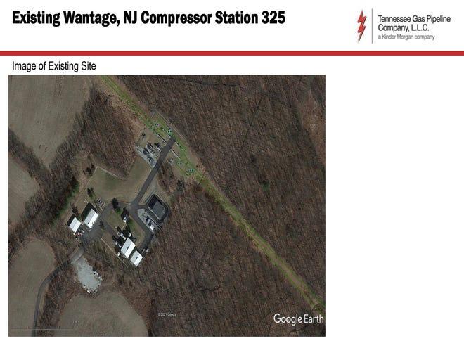 Existing Wantage, NJ Compressor Station 325