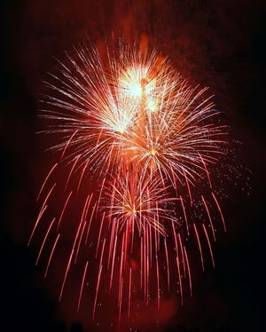 """Fireworks will light the evening sky above Norman Sunday during """"Norman Fourth Fest."""""""
