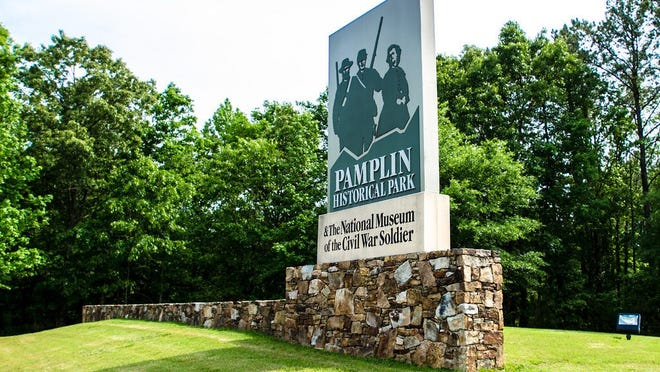The entrance to Pamplin Historical Park in Dinwiddie County is shown in this file photo. Beginning July 1 and lasting for 12 months, Dinwiddie residents can obtain passes for free general admission into the 424-acre site.