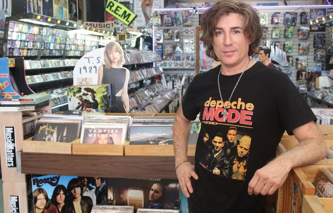 Eric Wenstrom, the new owner of Music Matters (Remixed), St. Augustine's oldest music store.