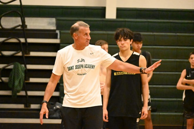 Head coach Marcus Perez is using a full summer schedule to hopefully improve on last year's 17-8 record.