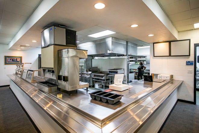 The kitchen inside Riverwalk Cafe on Thursday, June 24, 2021, in South Bend.
