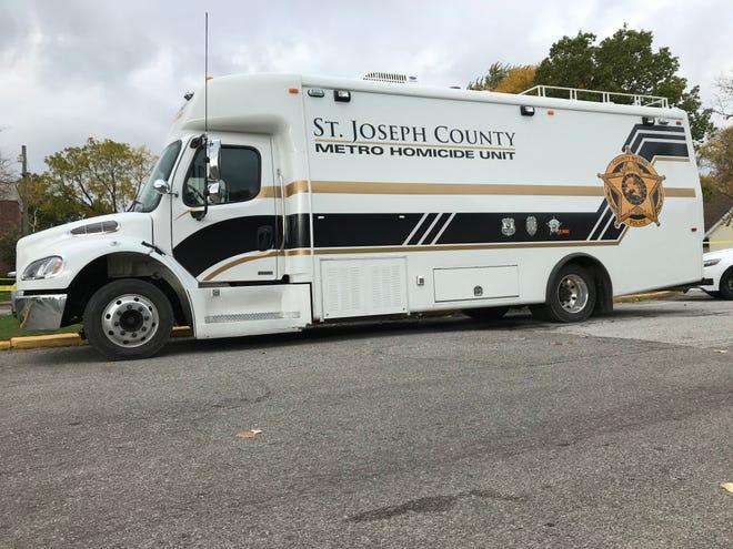 St. Joseph County Metro Homicide unit truck