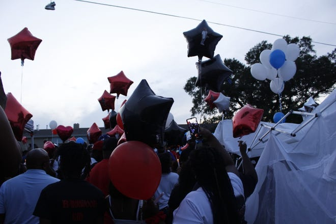 Family and friends of Arthur Milton and Terryl Coleman, victims of gun violence, gathered on June 18 to commemorate the two.