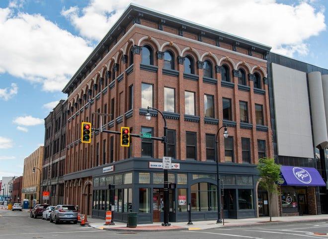 The Walker Block on Main Street has been renovated.