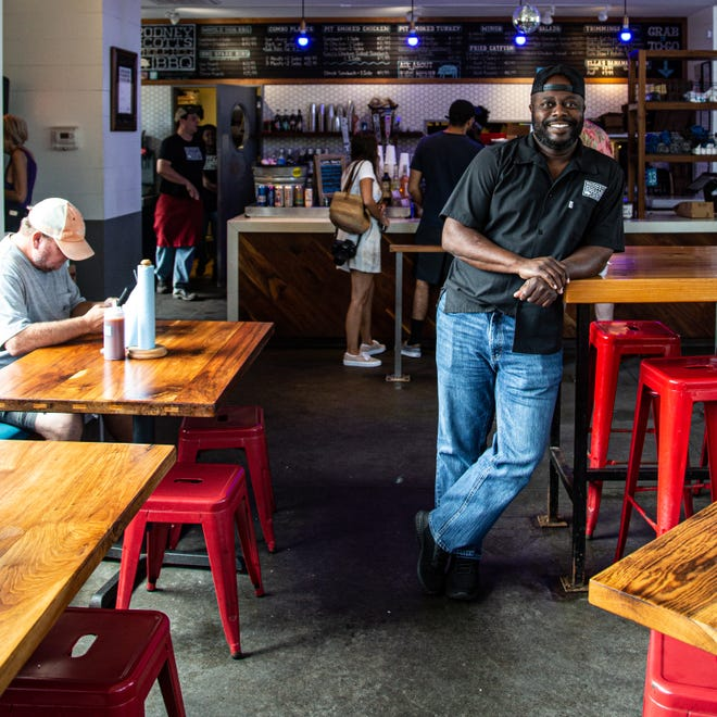 Pitmaster Rodney Scott, who operates restaurants in Charleston, South Carolina, and Birmingham, Alabama, with a third location in Atlanta on the way, is part of the 2021 class of inductees to the Barbecue Hall of Fame.