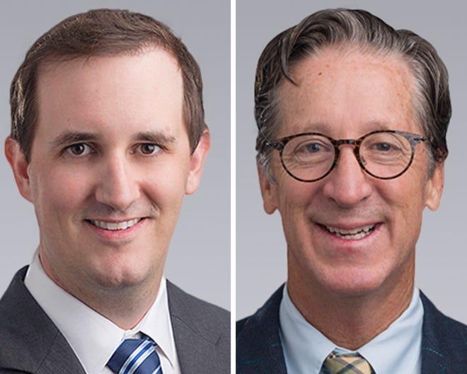 Dan Drotos (left) and Mike Ryals