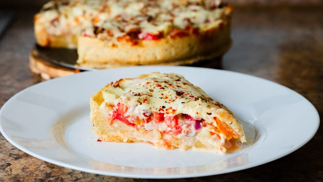 Gloria shares the recipe for her sister-in-law's tomato pie.