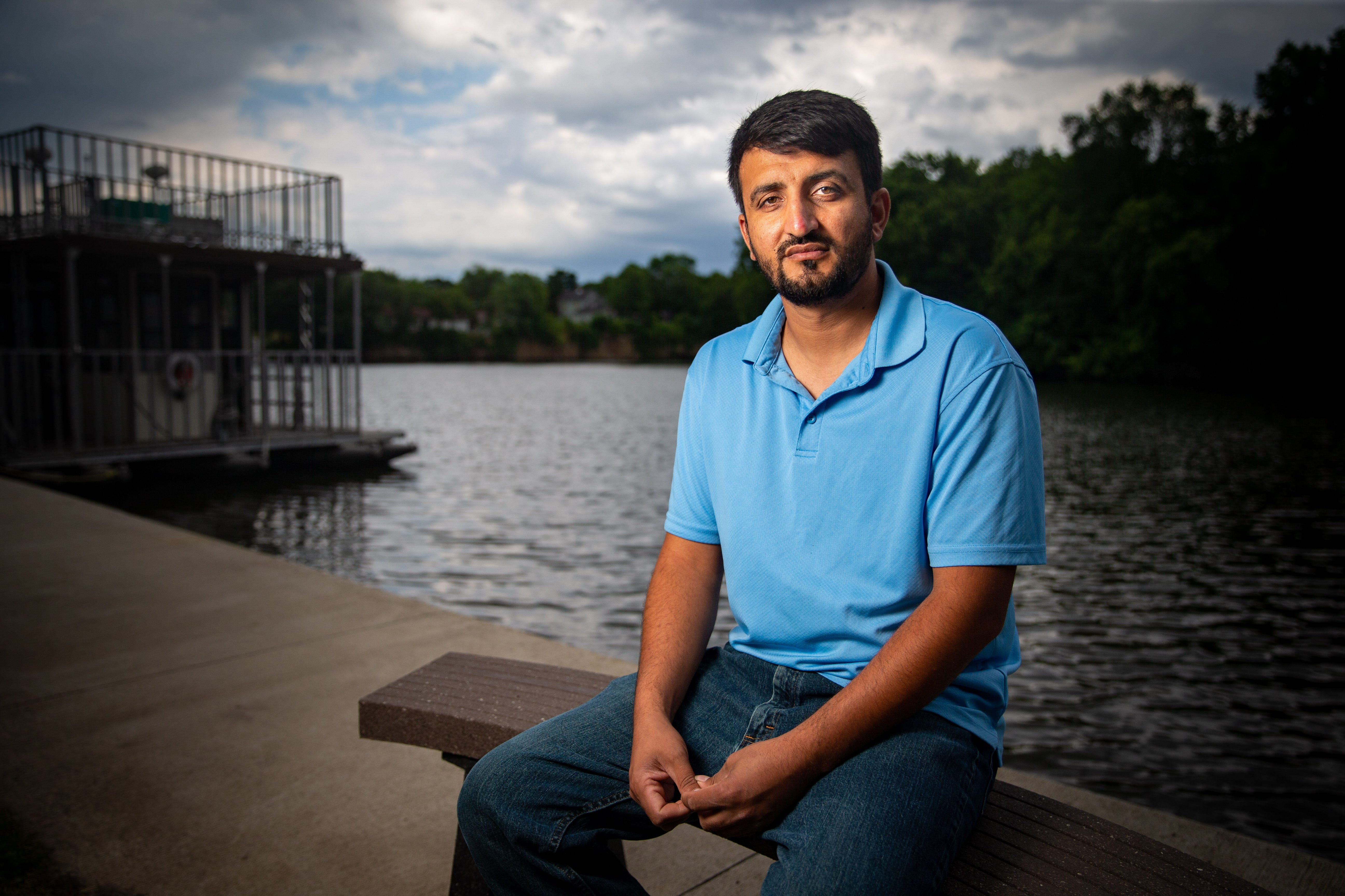 Zalmay Niazy worked as a translator for U.S. armed forces in Afghanistan where he was born and raised. In 2015, he moved to Iowa Falls to escape the Taliban.