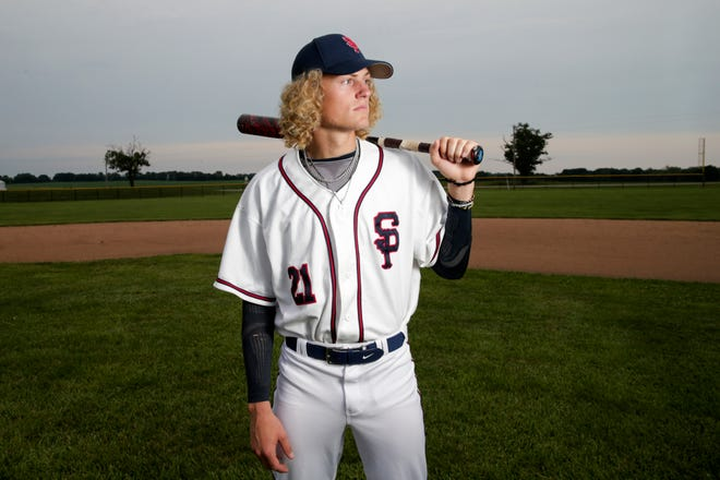 Seeger's Khal Stephen is the 2021 Journal & Courier Small School Baseball Player of the Year.