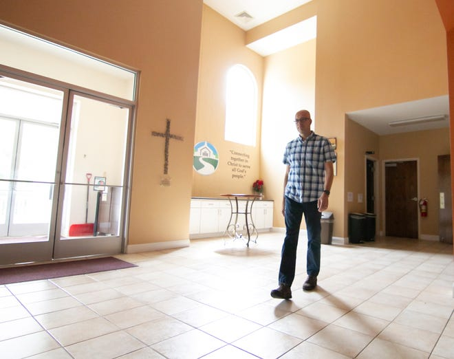 The Rev. DJ Reed of Chilson Hills Baptist Church in Genoa Township, shown Thursday, June 24, 2021, has delivered sermons and spoken publicly on the issue of diversity in the county.