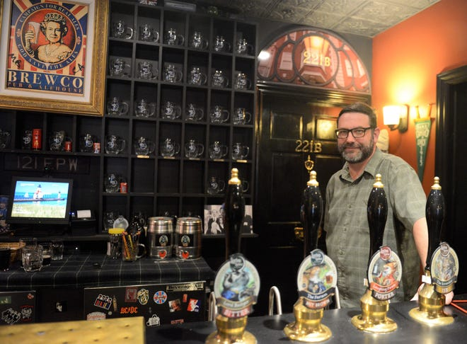 Ken Dudley, owner and founder of Laxton Hollow Brewing Works.