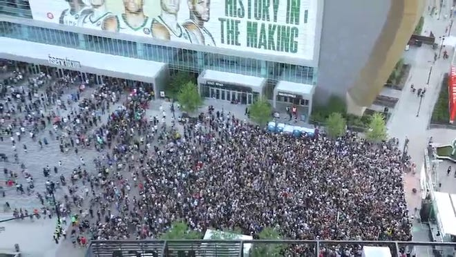 Now Bucks fans will have to do some shopping for NBA Finals gear.
