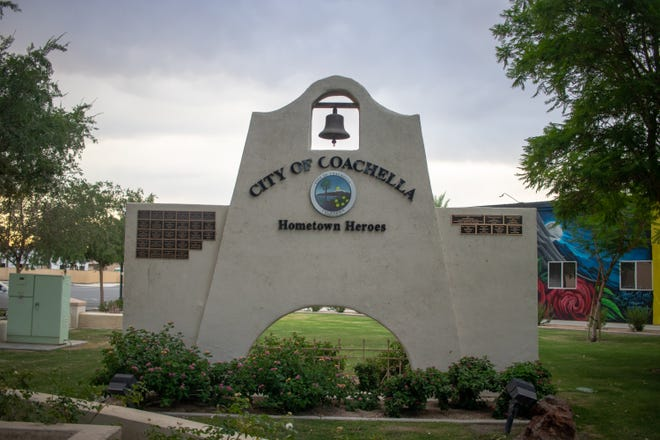 City of Coachella sign on June 22, 2021.