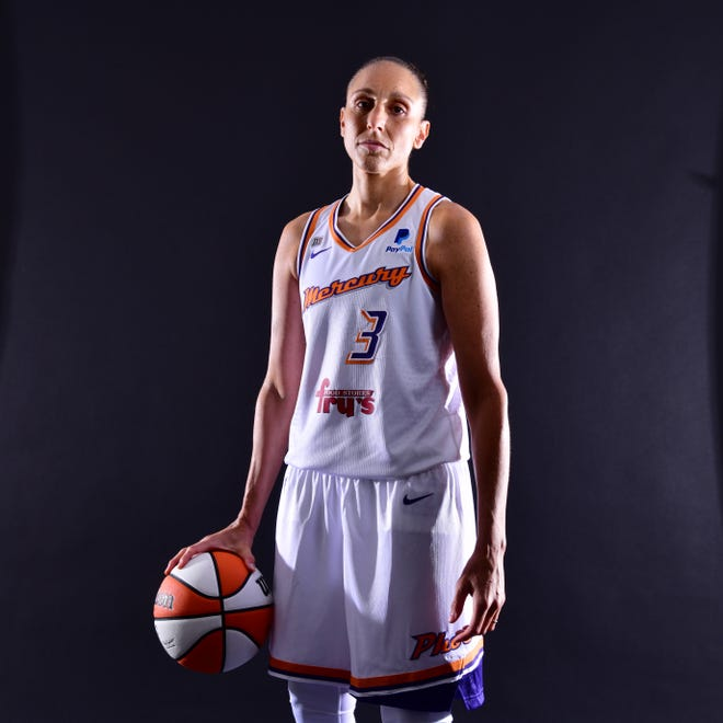 Diana Taurasi of the Phoenix Mercury continues to play elite level basketball at 39 and will be playing for in a fifth Olympics for the U.S. women's team.