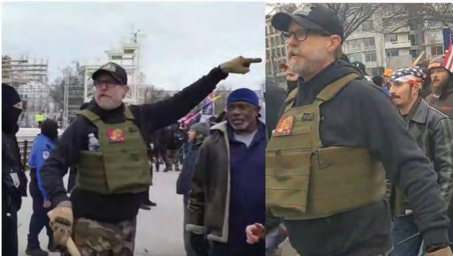 William Chrestman du Kansas fait face à plusieurs accusations fédérales liées à l'émeute du Capitole américain le 6 janvier à Washington, DC